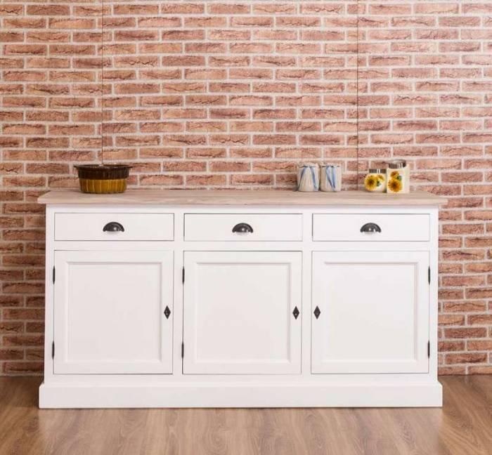 Bufet cu uși și sertare Piedmont