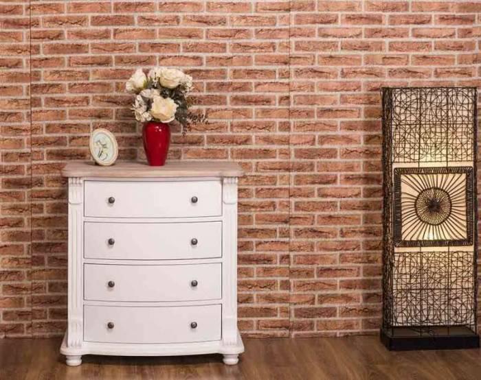 Comodă dormitor 4 sertare Jansen Oak