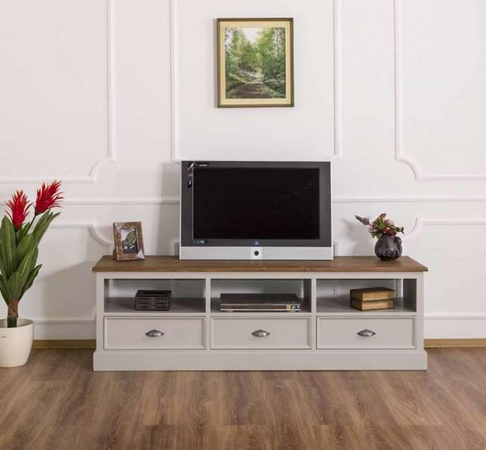 Comodă televizor cu trei sertare Cardon