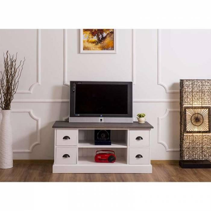 Comodă TV cu blat stejar Sylva Oak
