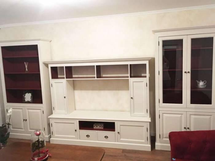Comodă TV cu uși, sertare și nișe Cardon
