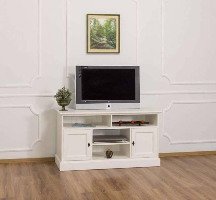 Comodă TV cu uși și patru nișe Levi