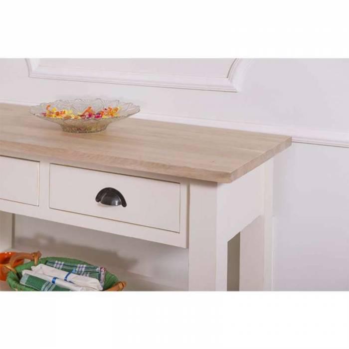 Consolă cu două sertare Salento Oak