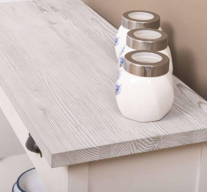 Consolă rustică cu 2 sertare Brienz