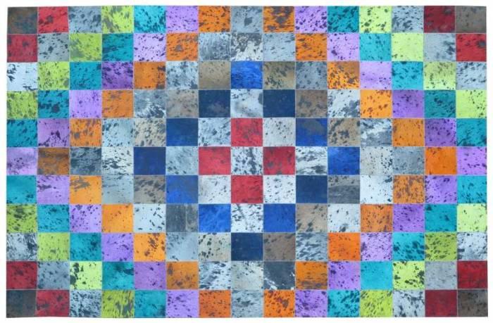 Covor din piele Kaleidoscop I