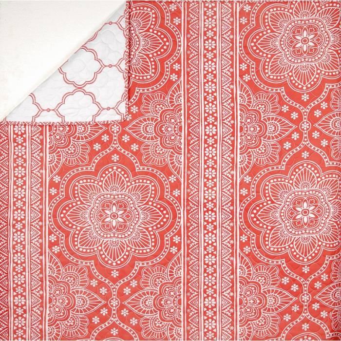 Cuvertură de pat corail 5061 Mandala 230x250 cm