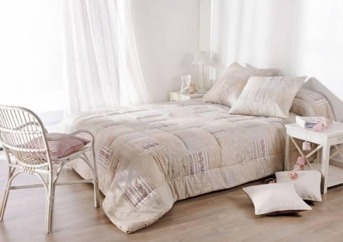 Cuvertură de pat dublu crem 5069 Bergamote 230x250 cm