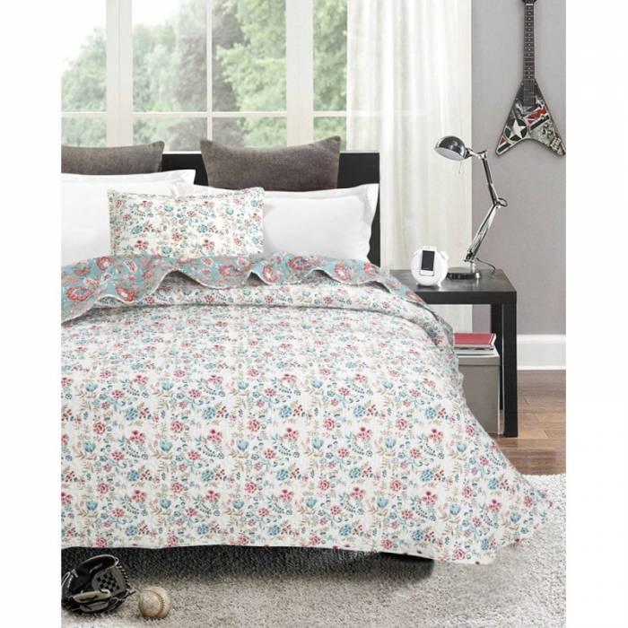 Cuvertură de pat cu flori Nora 180x270 cm
