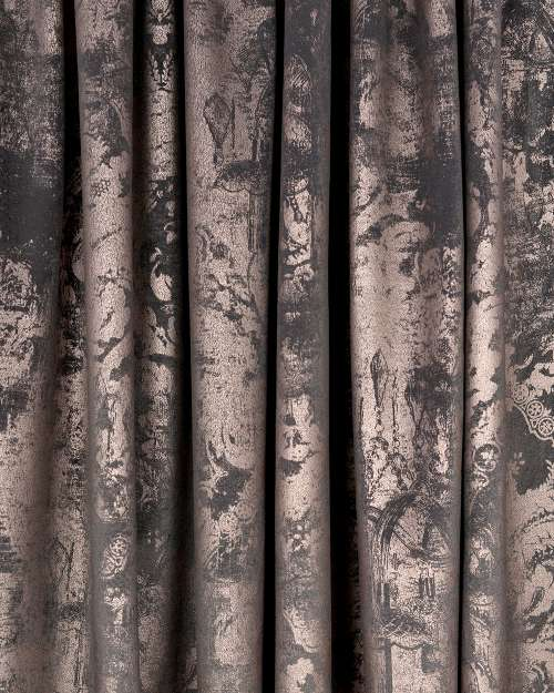 Material draperie Antique Roma Kraft Gri