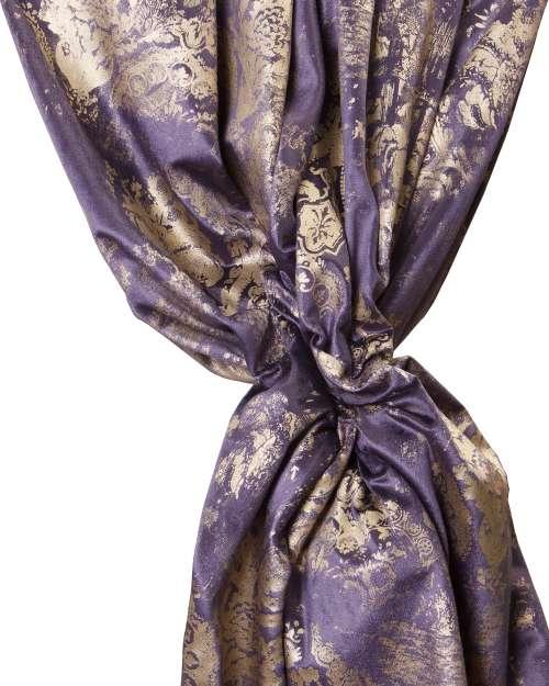 Material draperie Antique Roma Kraft Albastru