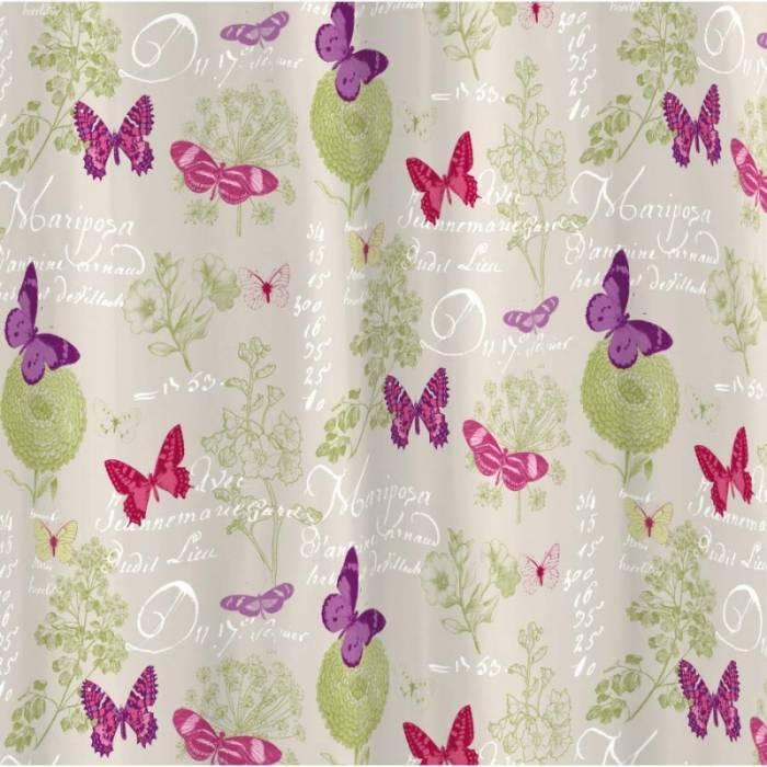 Draperie confecționată Butterfly Naturel