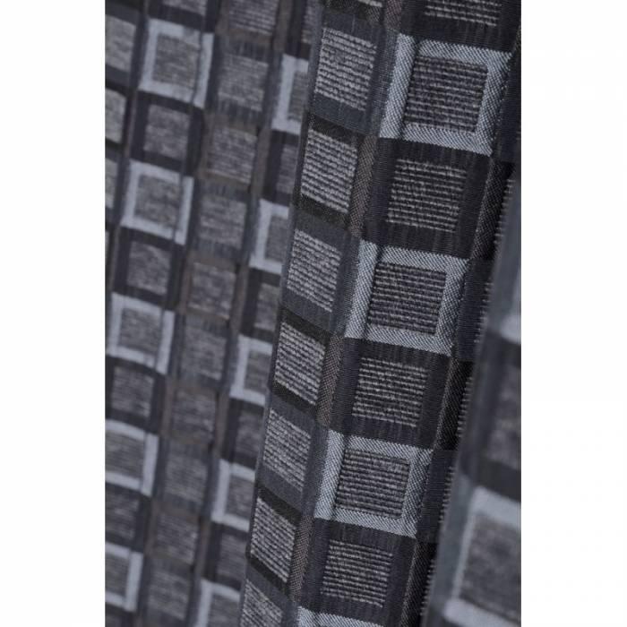 Draperie neagră modernă Futura 140x260 cm