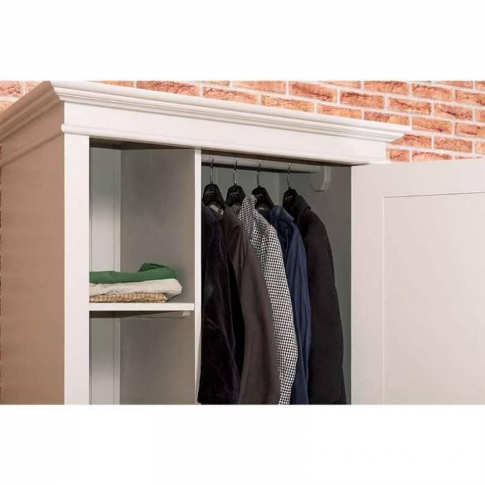 Dulap pentru haine, cu ușă și sertar Bastien