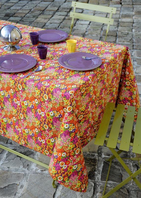 Fata de masă bucătărie Floraly Rose 155x155 cm