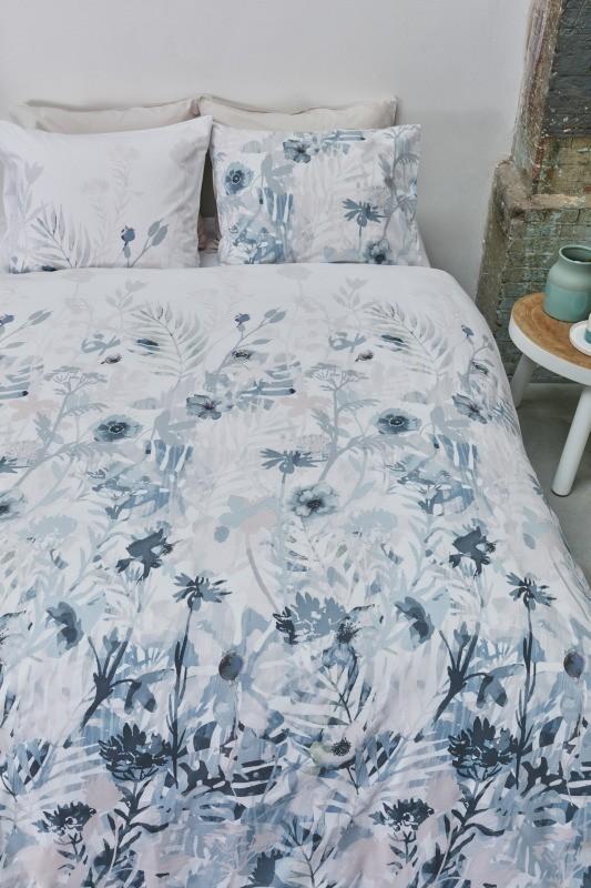 Lenjerie de pat florală Madeira Pastel 200x200/220 cm