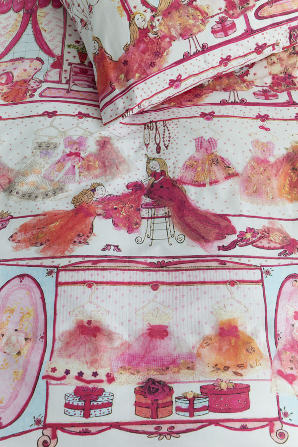 Lenjerie de pat Prințesa Roz