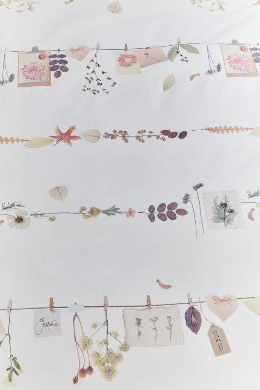 Lenjerie florală pat Floral Garland 200x200/220 cm