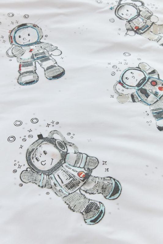 Lenjerie de pat băieți Astronaut 140x200 cm