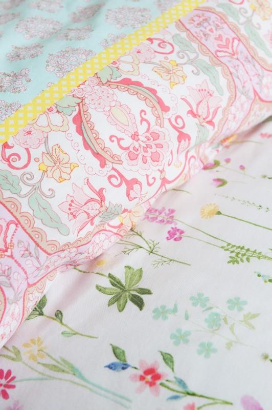 Lenjerie de pat fetițe dormitor Sea of Flowers 140x220/220 cm
