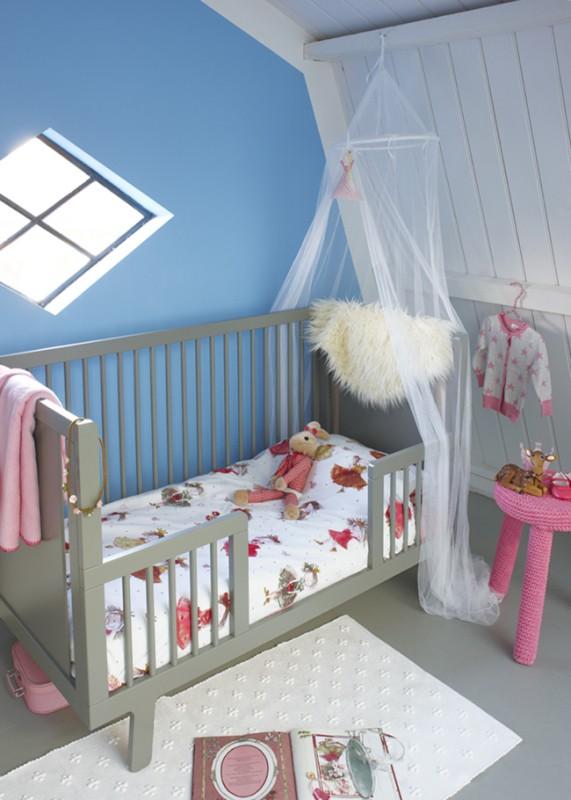 Lenjerie de pat pentru fetițe Cute Princess 100x140 cm
