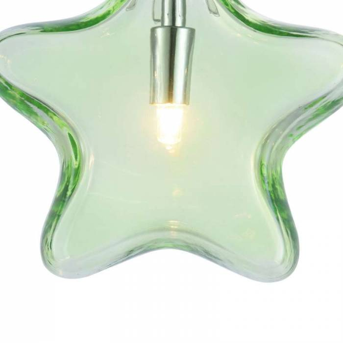 Lustră verde Star M