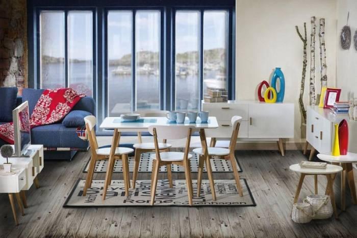 Masă dining cu design scandinav Oslo 14