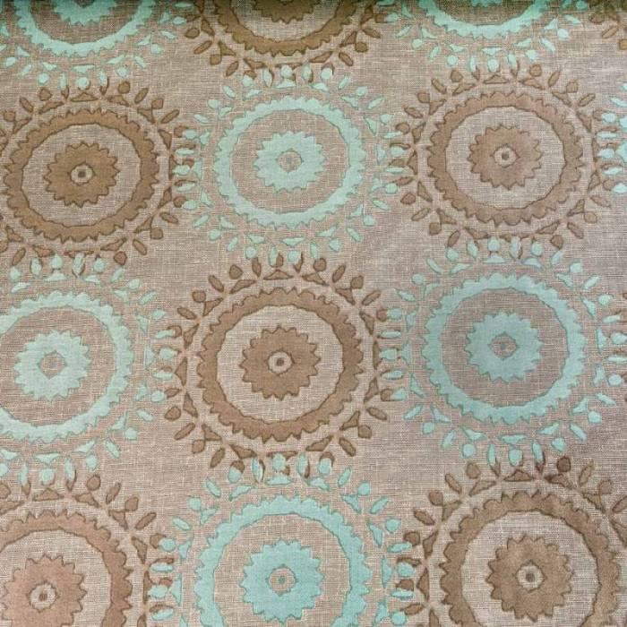 Material draperie Dama Blue