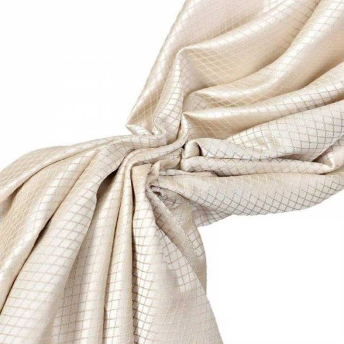 Material draperie Firenze Rombus Cream