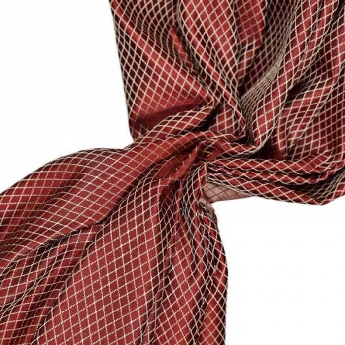 Material draperie Firenze Rombus Red