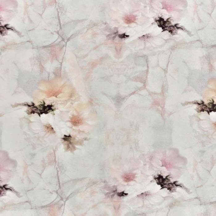 Material draperie Floral Paintings Marble