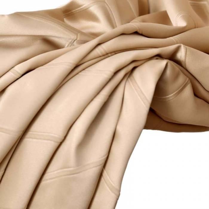 Material draperie Kastoria Satin Beige