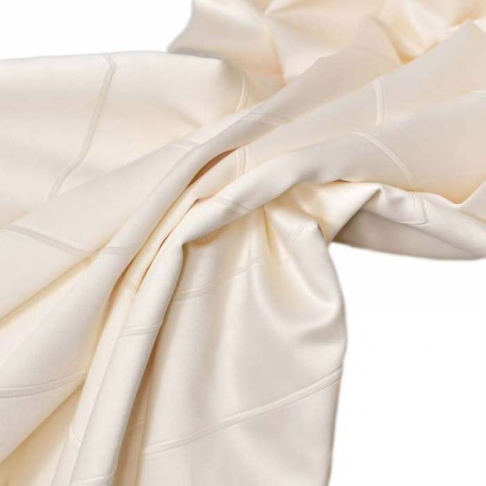 Material draperie Kastoria Satin Krem