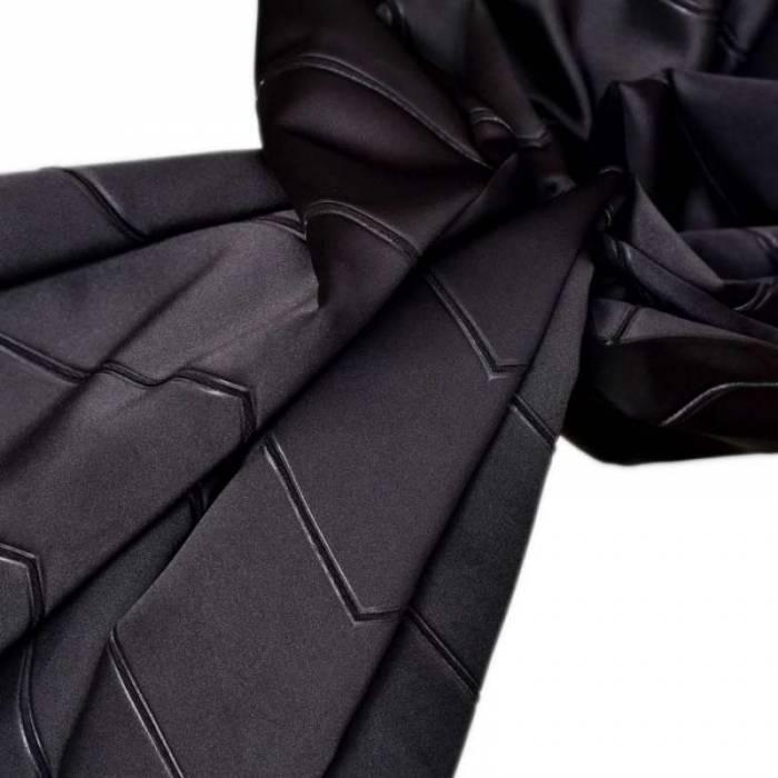 Material draperie Kastoria Satin Negro