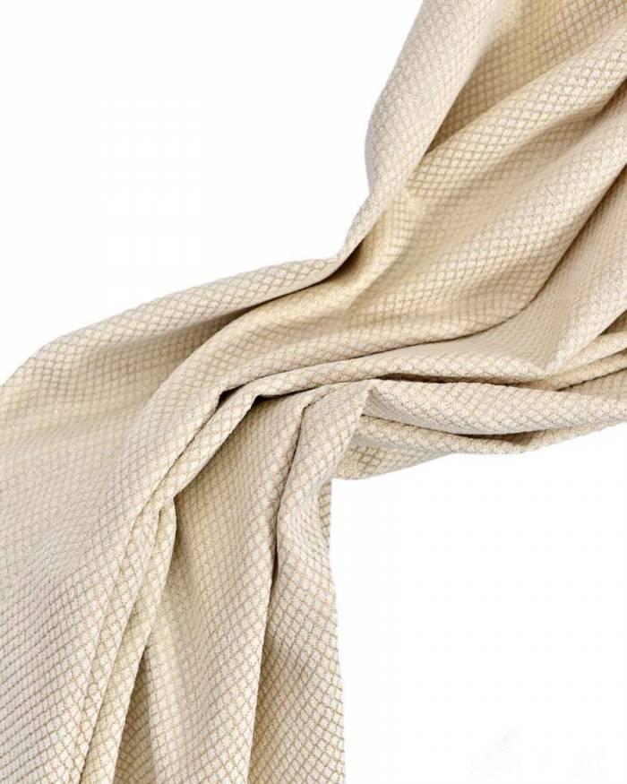 Material draperie Marbel, crem
