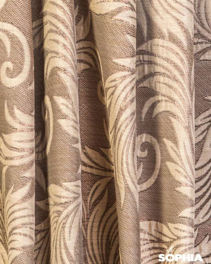 Material draperie Natur Copper