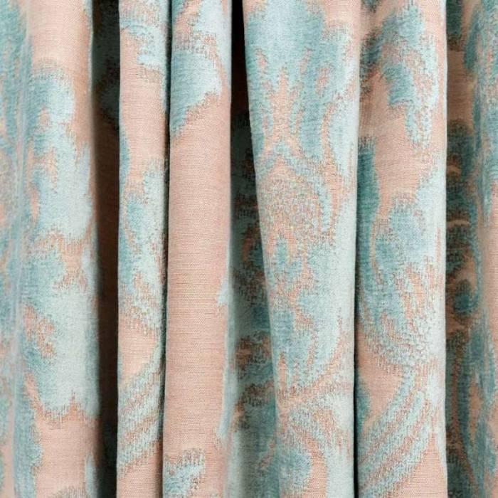 Material draperie Oriental Flowers Sea