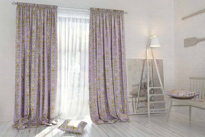 Material draperie Provence Elements