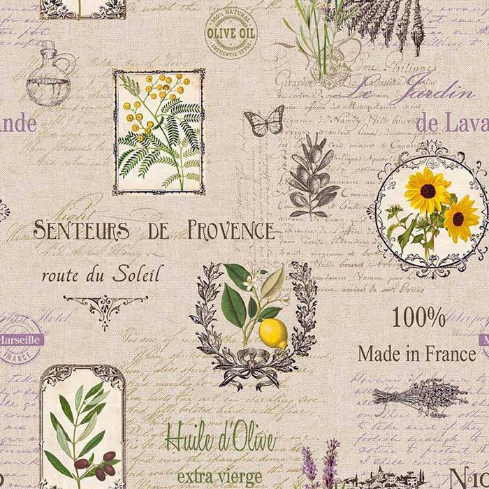 Material draperie Provence Soleil