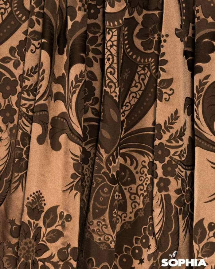 Material draperie Romeo, maro