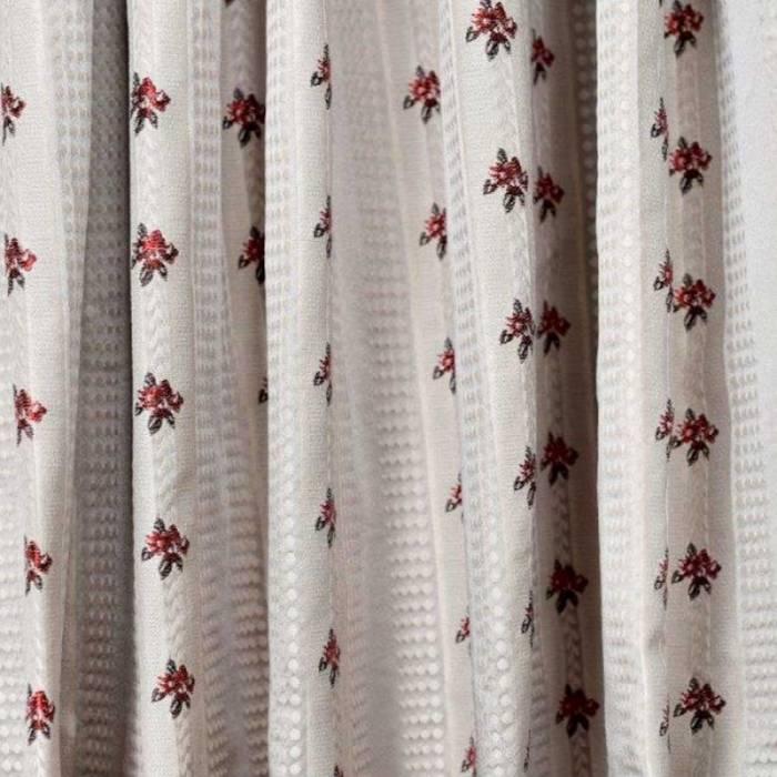 Material draperie Rosellini Stripes Grey