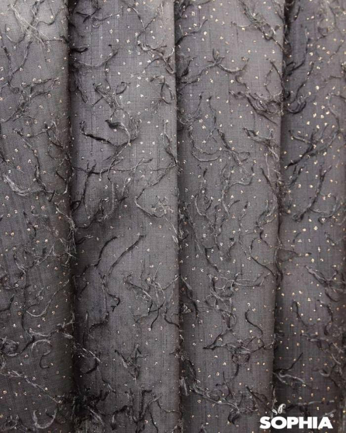 Material draperie vigo, tafta cu zulufi