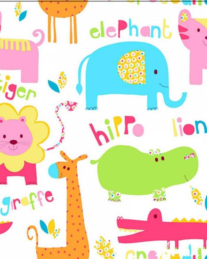 Material perdea Elephant