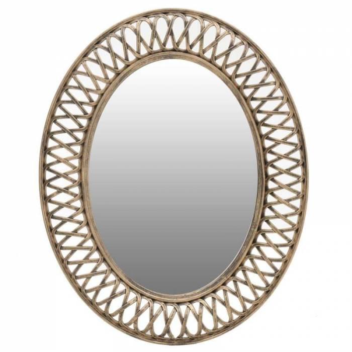 Oglindă cu ramă aurie Selena G