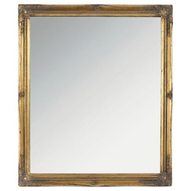 Oglindă cu ramă aurie Siriana