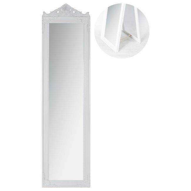Oglindă de podea Oriveto Blanco