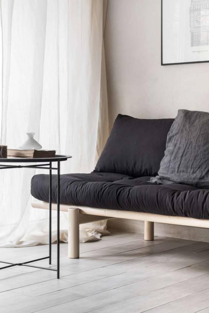 Pat canapea gri stil scandinav Pace Black