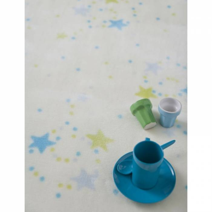 Pătură bebeluși stelute colorate 110x140 cm 6361