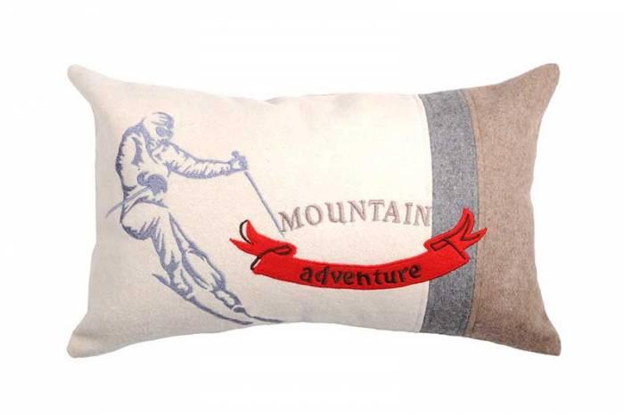 Pernă decorativă Montana Ecru