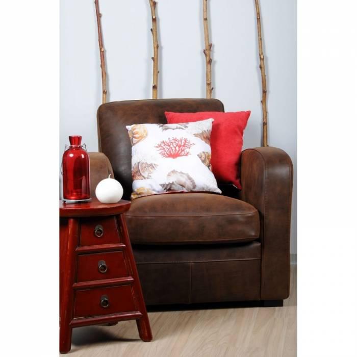 Pernă decorativă scoica roșie Buccin 40x40 cm