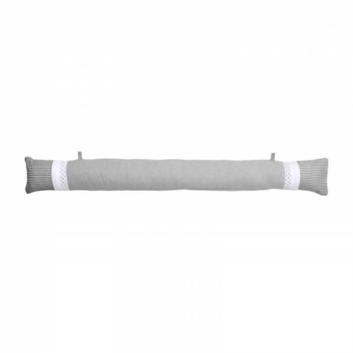 Perna usa gri alb bumbac Angele Gris 10x90 cm